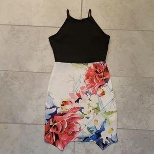 Charlotte Russe asymmetrical dress